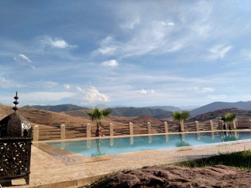 journée détente et déjeuner piscine à TIGMI NOMADE…